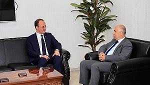 Vali Karahan'dan Başkan Örki'ye Ziyaret