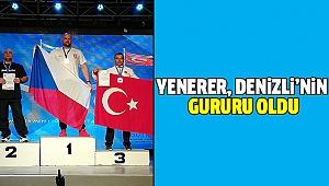 Yenerer Avrupa Üçüncüsü Oldu