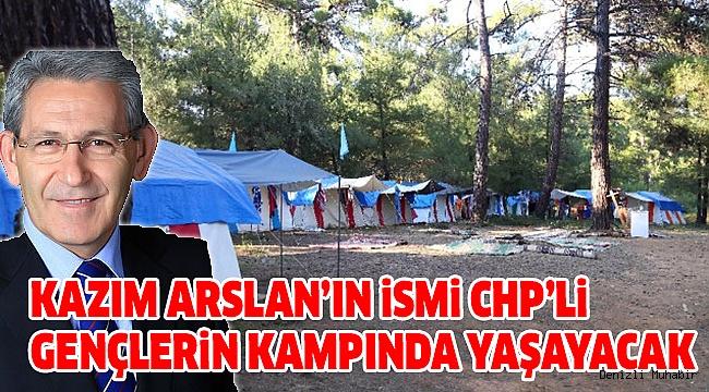 Arslan'ın İsmi Çadır Kampına Verildi