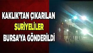 Bursa'ya gönderildiler