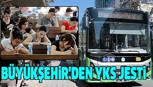 Büyükşehir Otobüsleri Sınavına Gireceklere Ücretsiz