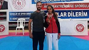 Büyükşehir Taekwondo da Bir Türkiye 3'üncüsü Daha
