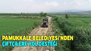 Çiftçilerden Başkan Örki'ye Teşekkür
