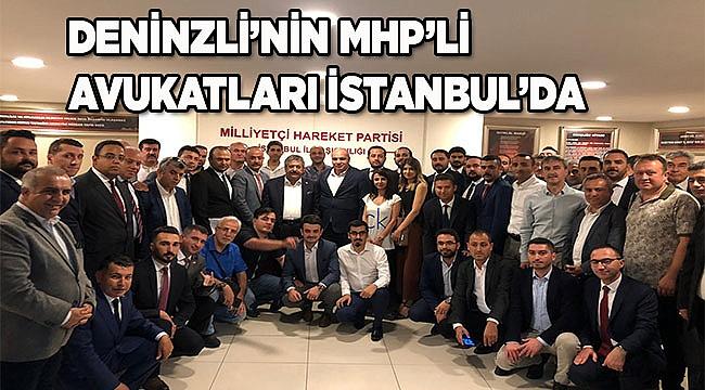 Denizli'den MHP'li Avukatlar İstanbul'da