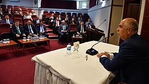 İl İdare Şube Başkanları ve Kaymakamlar Toplantısı Yapıldı