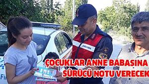 Jandarma Çocuklarla İşbirliği Yaptı