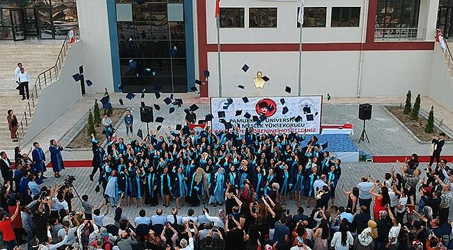 Kale MYO'da Mezuniyet Töreni Coşkusu Yaşandı