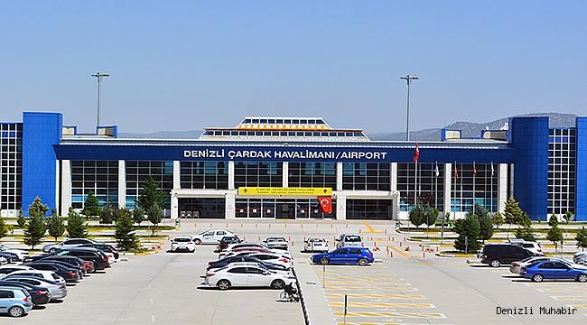 Mayıs'ta Çardak Havalimanı'nda 49 bin 379 Yolcuya Hizmet Verildi.