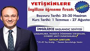 Pamukkale Belediyesi'nden Yetişkinlere İngilizce Öğrenme Fırsatı