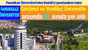 Pamukkale Üniversitesi Denizli'yi Gururlandırdı