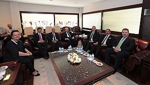 TBMM Başkanı Şentop'tan Başkan Zolan'a Ziyaret
