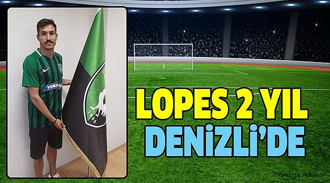 Yukatel Denizlispor Lopes'i Transfer Etti