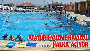 Yüzme Bilmeyenler Atatürk Havuzu'na