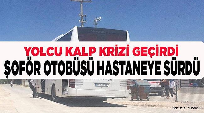 ACİL SERVİSE OTOBÜSLE GÖTÜRÜLDÜ!