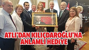 Başkan Atlı Kılıçdaroğlu'nu Ziyaret Etti