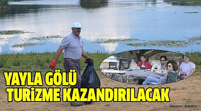 Buldan Süleymanlı Yayla Gölü Milli Park Olacak