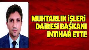 Büyükşehir Belediyesini Yasa Boğan İntihar!