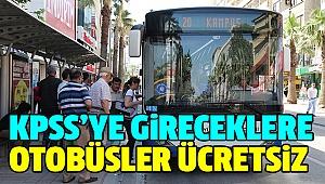 Büyükşehir'den KPSS' Ye Gireceklere Destek