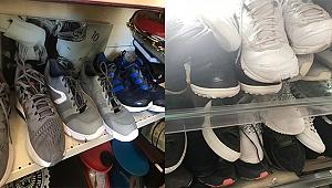 Çaldıkları ayakkabıları internette satışa çıkarınca yakalandılar