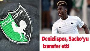 Denizlispor, Sacko'yu transfer etti
