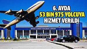 DHMİ Çardak Havalimanının Rakamlarını Açıkladı