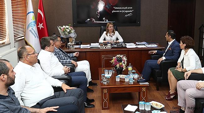 DTO'dan Başkan Doğan'a Ziyaret