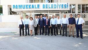 DTO'dan Başkan Örki'ye Tebrik Ziyareti