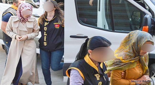 FETÖ Operasyonu 10 kadın gözaltında