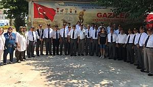 Gaziler Kıbrıs Barış Harekatı'nın 45. Yıl Dönümünü Kutladı