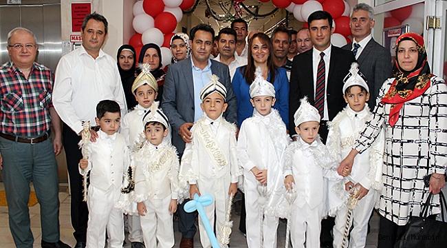 Kaleli 40 Çocuğun Sünnet Heyecanı