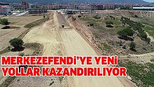 Mehmet Akif Ersoy'da Yeni Yol Çalışması Tam Gaz