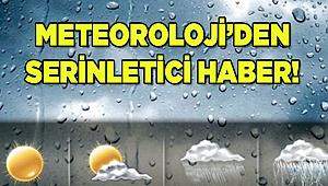 Meteoroloji'den serinletici haber!