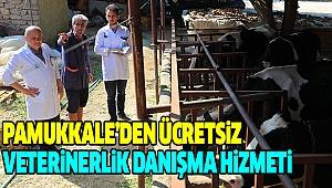 Pamukkale Belediyesi'nden Hayvancılığa Büyük Destek