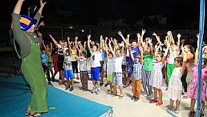 Pamukkaleli Çocuklar Şenlikte Doyasıya Eğlendi