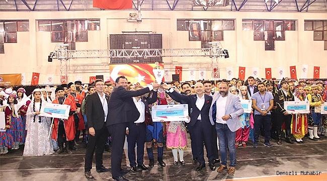 Sarayköy'lü Efeler Türkiye şampiyonu