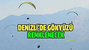 Türkiye Yamaç Paraşütü Mesafe Şampiyonası Denizli'de