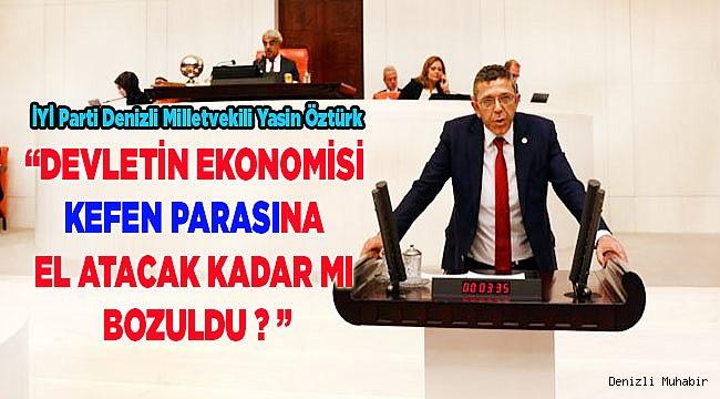 Yasin Öztürk, Bakan Albayrak'a bütçeyi sordu