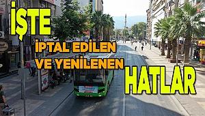 28 Ağustos'ta 18 adet otobüs hattı daha hizmete giriyor