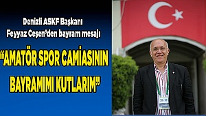 """AMATÖR SPOR CAMİASININ BAYRAMIMI KUTLARIM"""