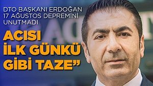 Başkan Erdoğan'dan 17 Ağustos Mesajı
