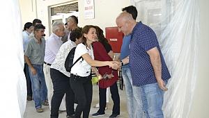 Başkan Şevik, belediye personeliyle bayramlaştı