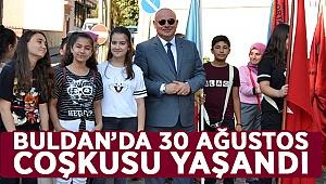 Buldan'da Zafer Bayramı coşkusu