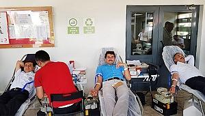 Büyükşehir Ulaşım A.Ş'den kan bağışı kampanyasına tam destek