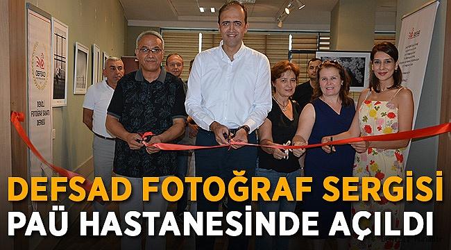 DEFSAD FOTOĞRAF SERGİSİ PAÜ HASTANESİNDE AÇILDI