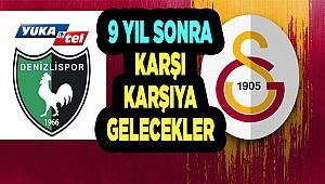 Galatasaray ile 39. randevuya saatler kaldı