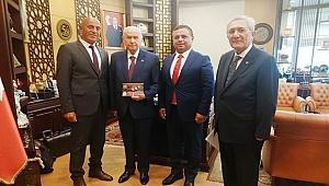 TÜRKMEN BEY'İNİ ÇAL'A DAVET ETTİ