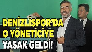 Yasin Özpek'in tesise girişi yasaklandı