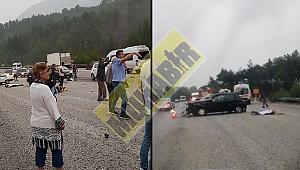 Cankurtaran'da kaza: 1 ölü 2 yaralı (VİDEO HABER)