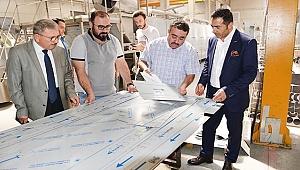 MAKİNA SANAYİNİN ÖNCÜLERİNDEN ŞEVVAL MAKİNE'Yİ GEZDİ