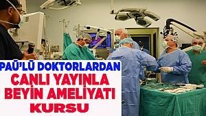 PAÜ Hastanesi Canlı Cerrahi Kursuna Ev Sahipliği Yaptı